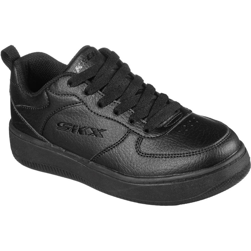 Skechers BoysandGirls Sport Court 92 School Shoes Uk Size 2 (eu 35)