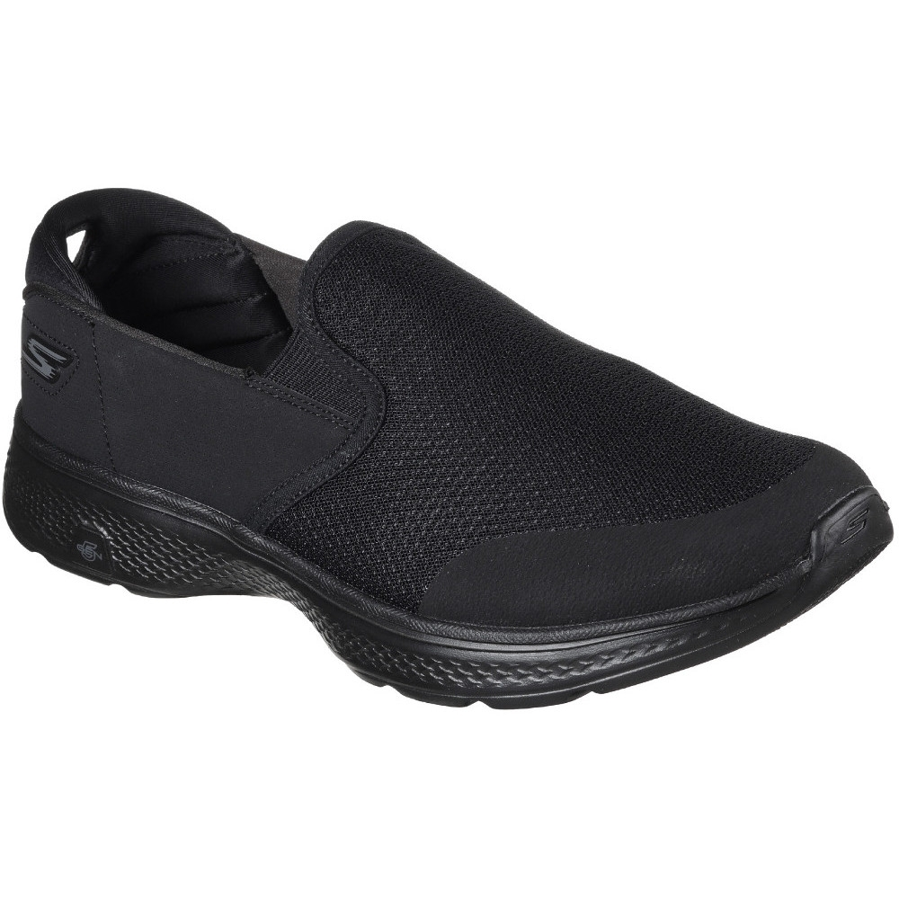 Image of Skechers Mens GOwalk 4 Contain Cushioned Slip On Casual Trainers Shoes UK Size 7