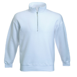 Product image of Fruit Of The Loom Zip Neck Sweatshirt