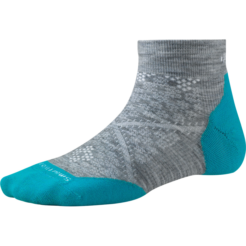 Product image of Smartwool Ladies PhD Run Light Elite Low Cut Running Socks Grey