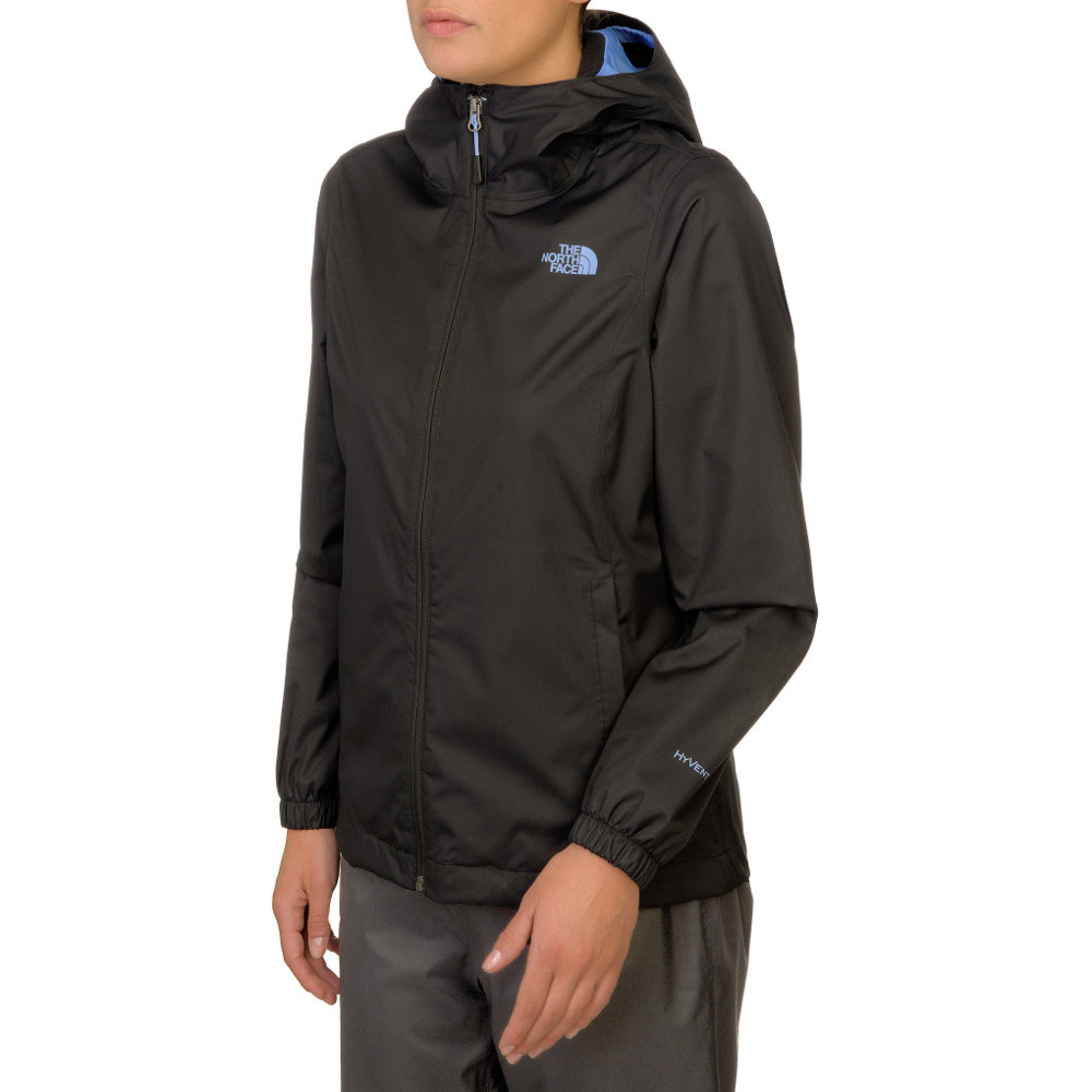 The North Face Ladies Quest Waterproof Hooded Shell Jacket S - Bust 33-35 (84-89 cm)