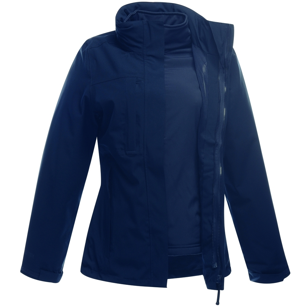 Regatta Mens Chilton Iii Hybrid Water Repellent Full Zip Fleece Jacket Xxl - Chest 46-48 (117-122cm)