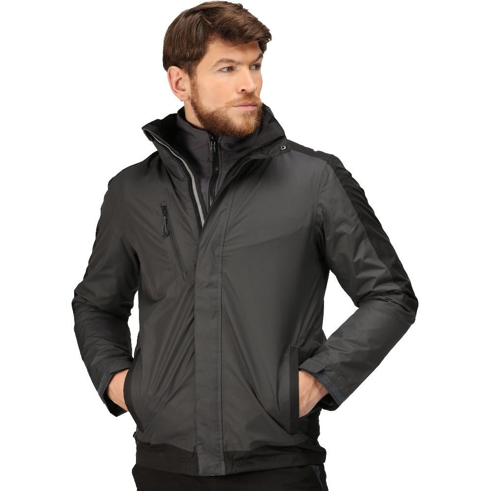 Trespass Mens Donald Ii 100% Polyester Half Zip Airtrap Fleece Top Xxs - Chest 29-31 (77-82cm)
