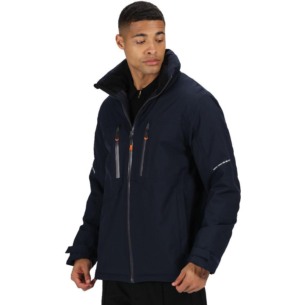 Regatta BoysandGirls Cherryhill Water Repellent Faux Fur Hooded Jacket 3-4 Years - Chest 55-57cm (height 98-104cm)