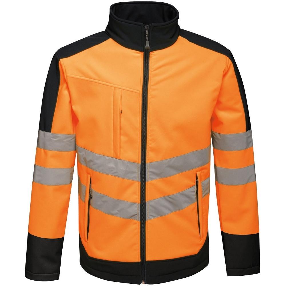 Trespass Mens Reuben Waterproof Breathable Hooded Rain Shell Jacket Xxs - Chest 29-31 (77-82cm)