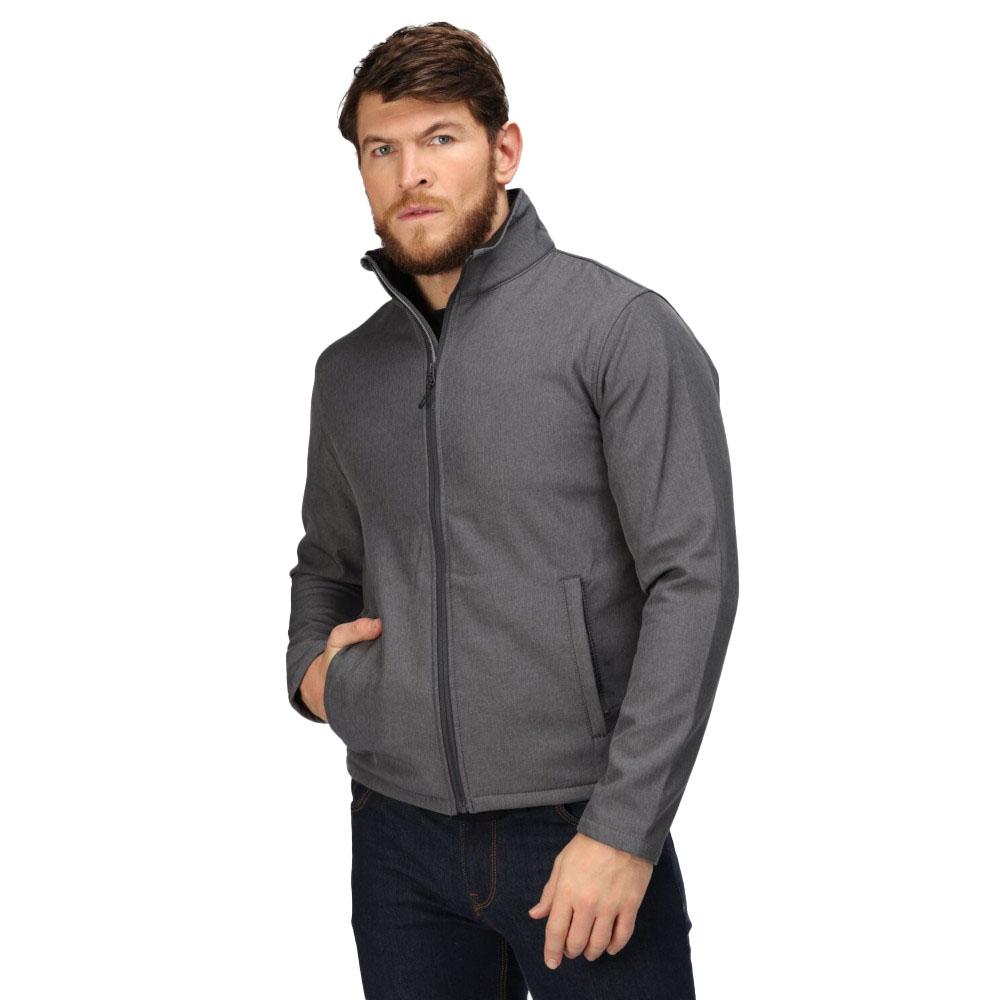 Regatta Mens Harra Hybrid Durable Hooded Softshell Walking Jacket Xxl - Chest 46-48 (117-122cm)