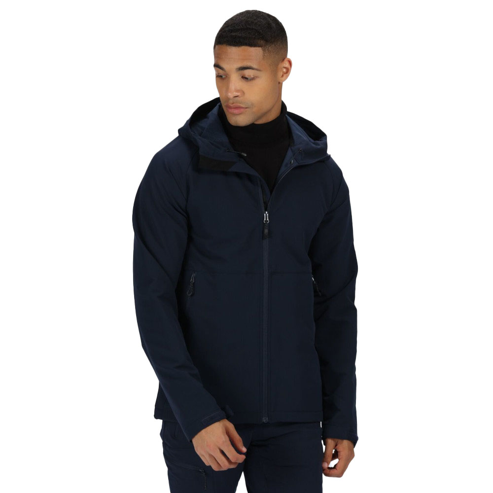Regatta Mens Hewitts Iv Technical Water Repellent Softshell Jacket Xl - Chest 43-44 (109-112cm)