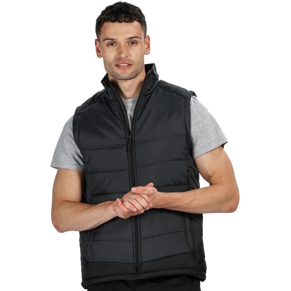 Trespass Mens Conway Dlx Full Zip Thick Jacquard Fleece Jacket L - Chest 41-43 (104-109cm)