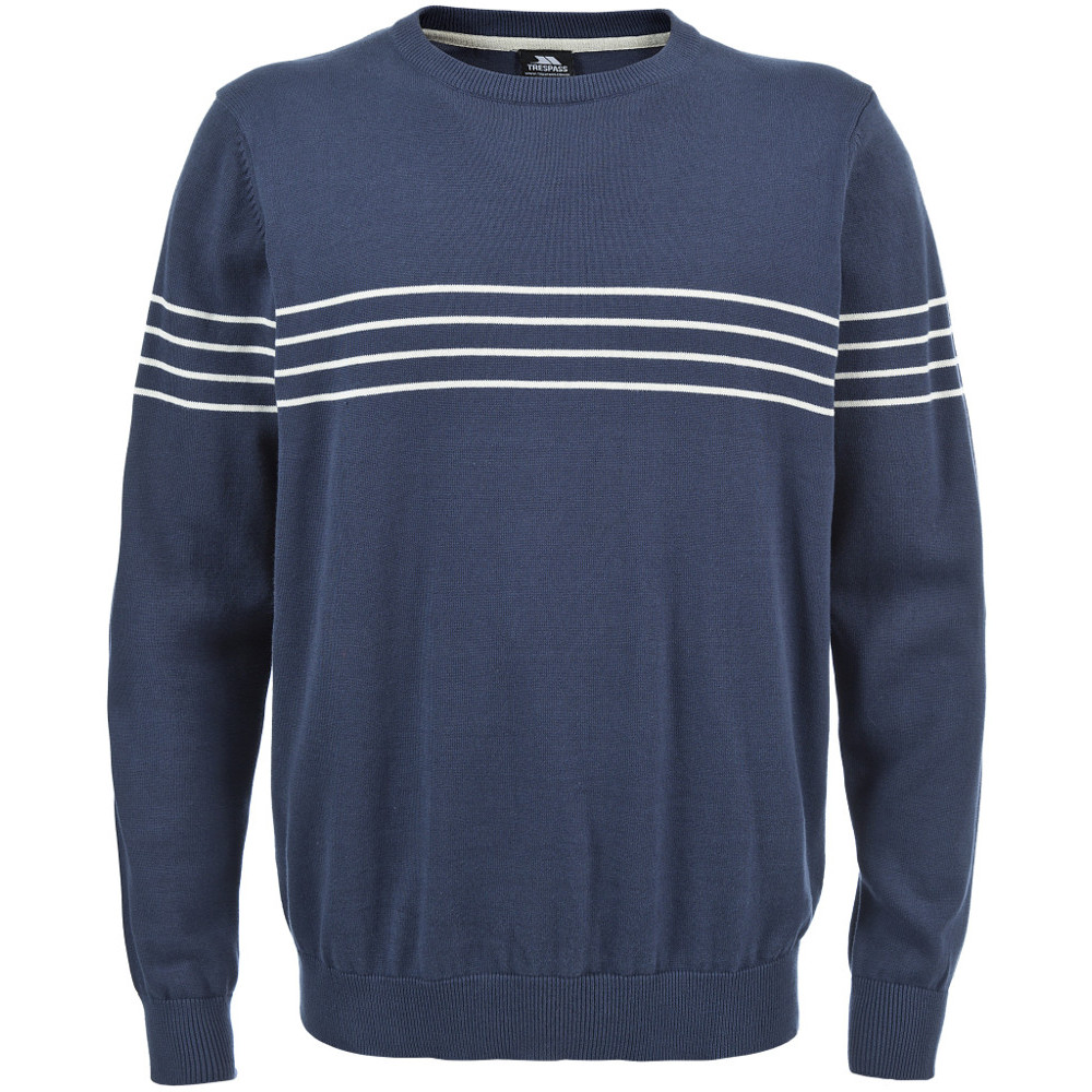 Product image of Trespass Mens Stratus Warm Crew Neck Cotton Jumper