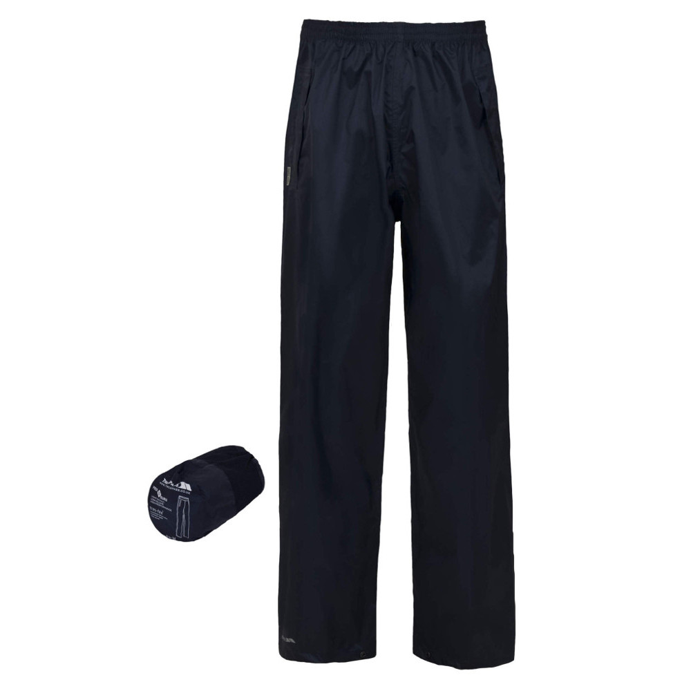 Product image of Trespass Boys Girls Packa Packable Waterproof Trousers