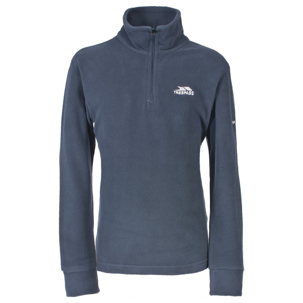 Product image of Trespass Boys Masonville Quarter Zip Microfleece Top