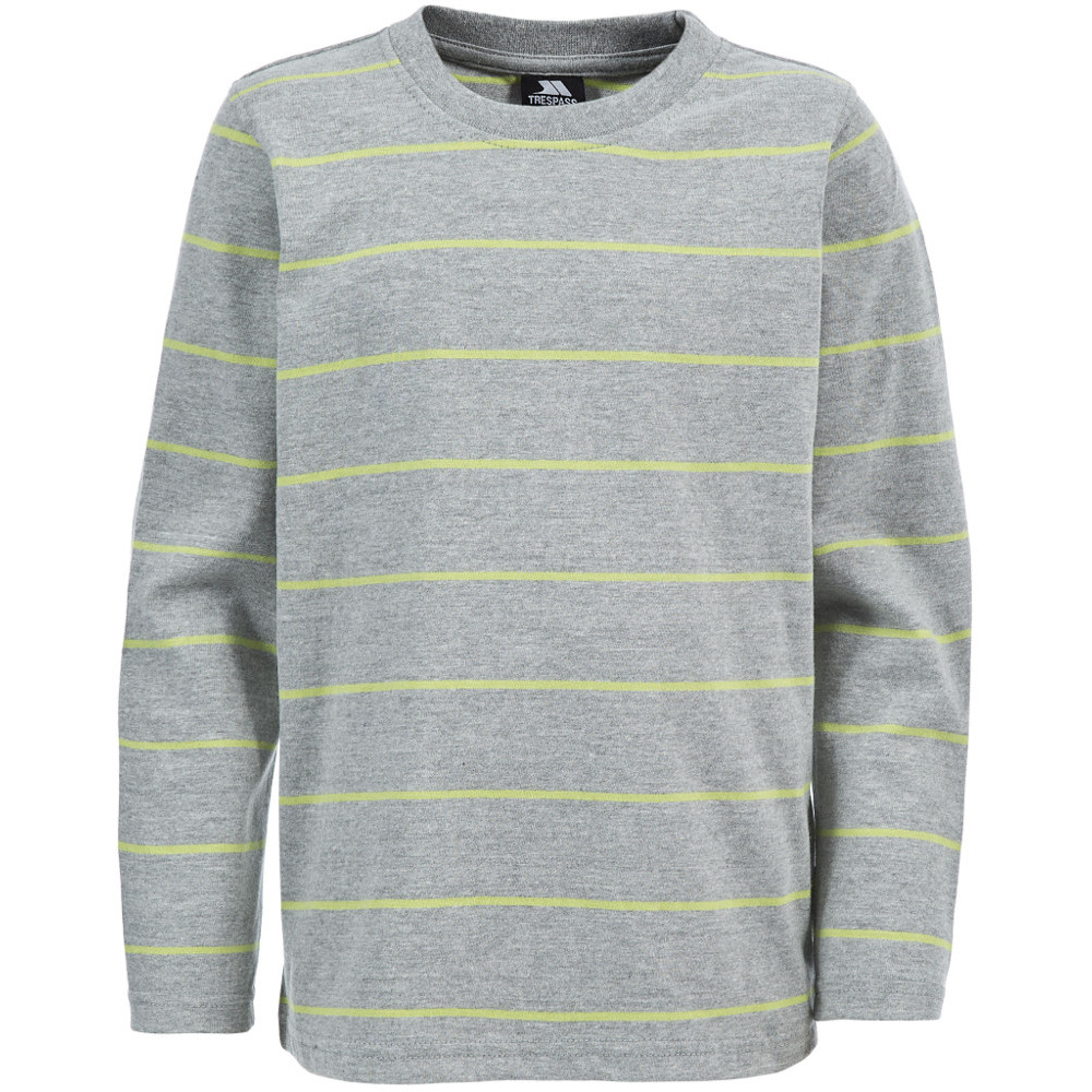 Product image of Trespass Boys Stefan Peached Cotton Round Neck Sweatshirt