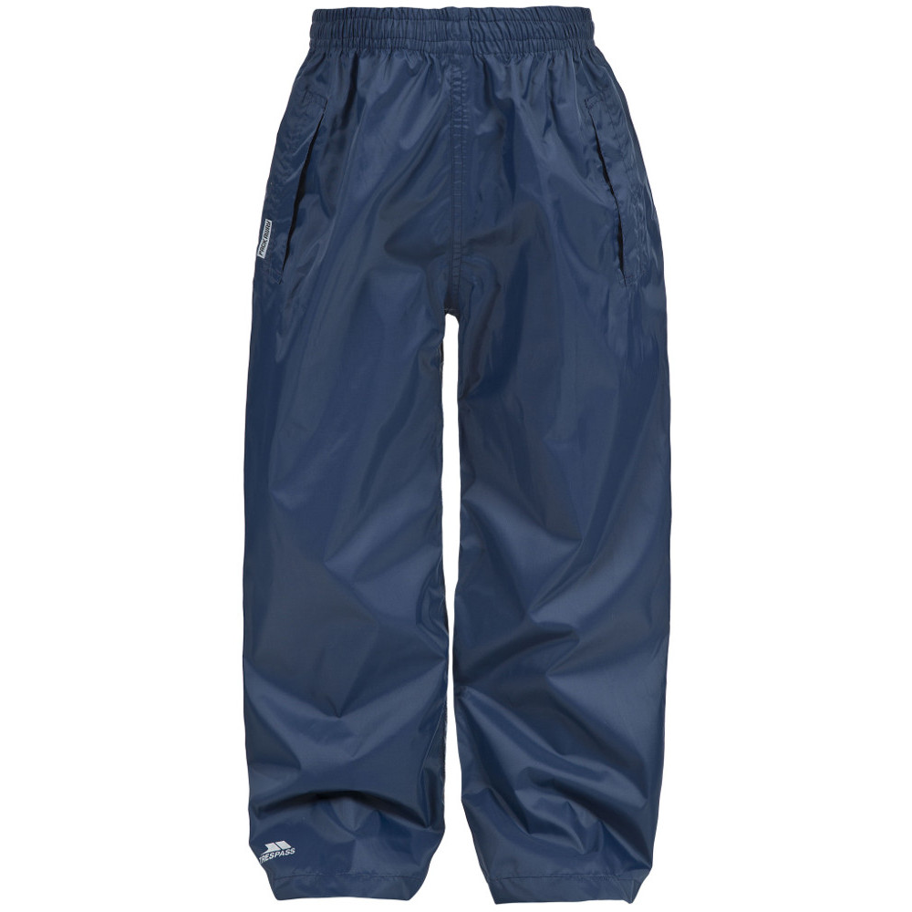 Product image of Trespass Boys Packup Waterproof Breathable Packable Trousers