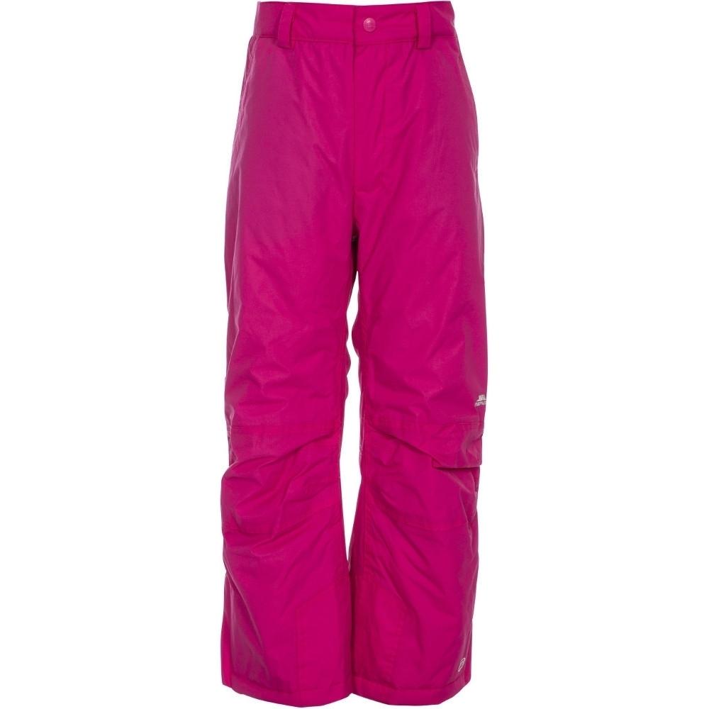 Trespass Boys Girls Contamines Waterproof Breathable Ski Trouser 11-12 Years- Waist 31 (79cm)