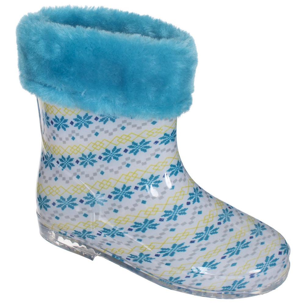 Trespass Boys Girls Pitter Babys Print Patterned Wellington Boots Uk Size 8 (eu 25)
