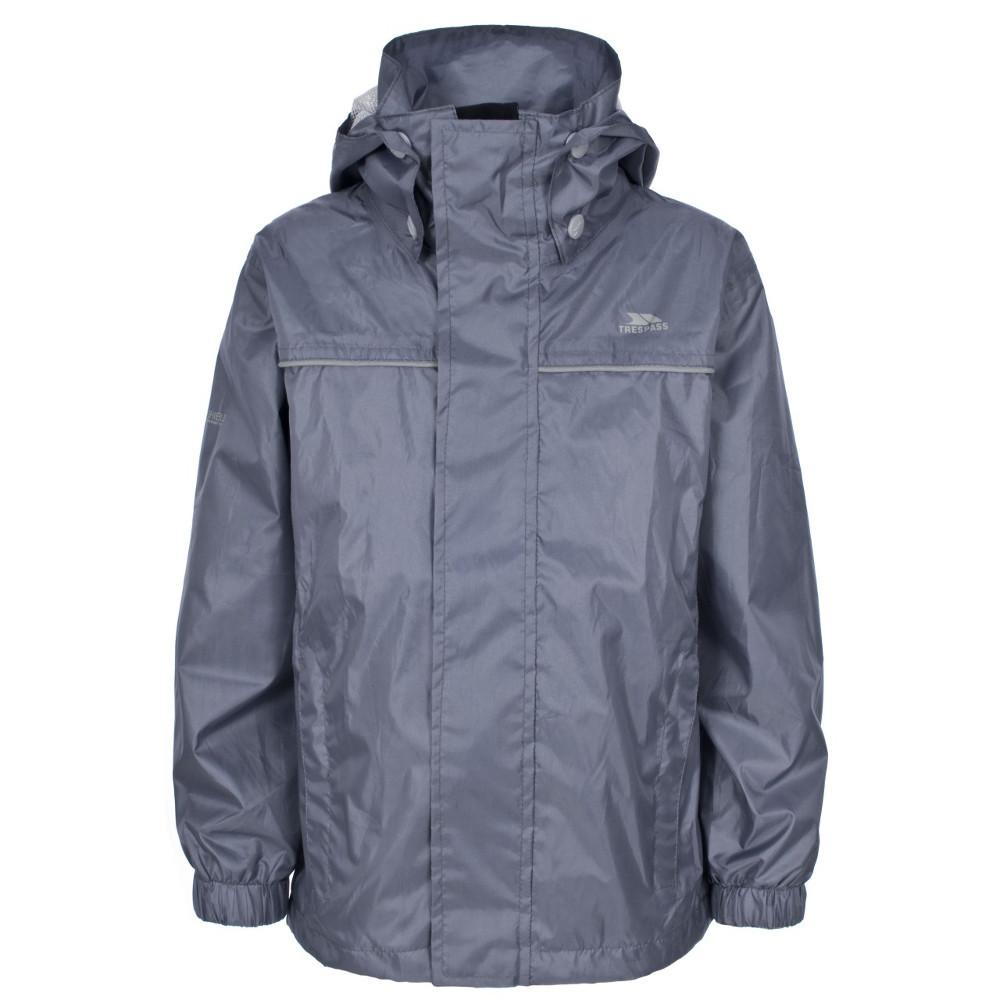 Trespass Boys Neely Waterproof Breathable Shell Jacket
