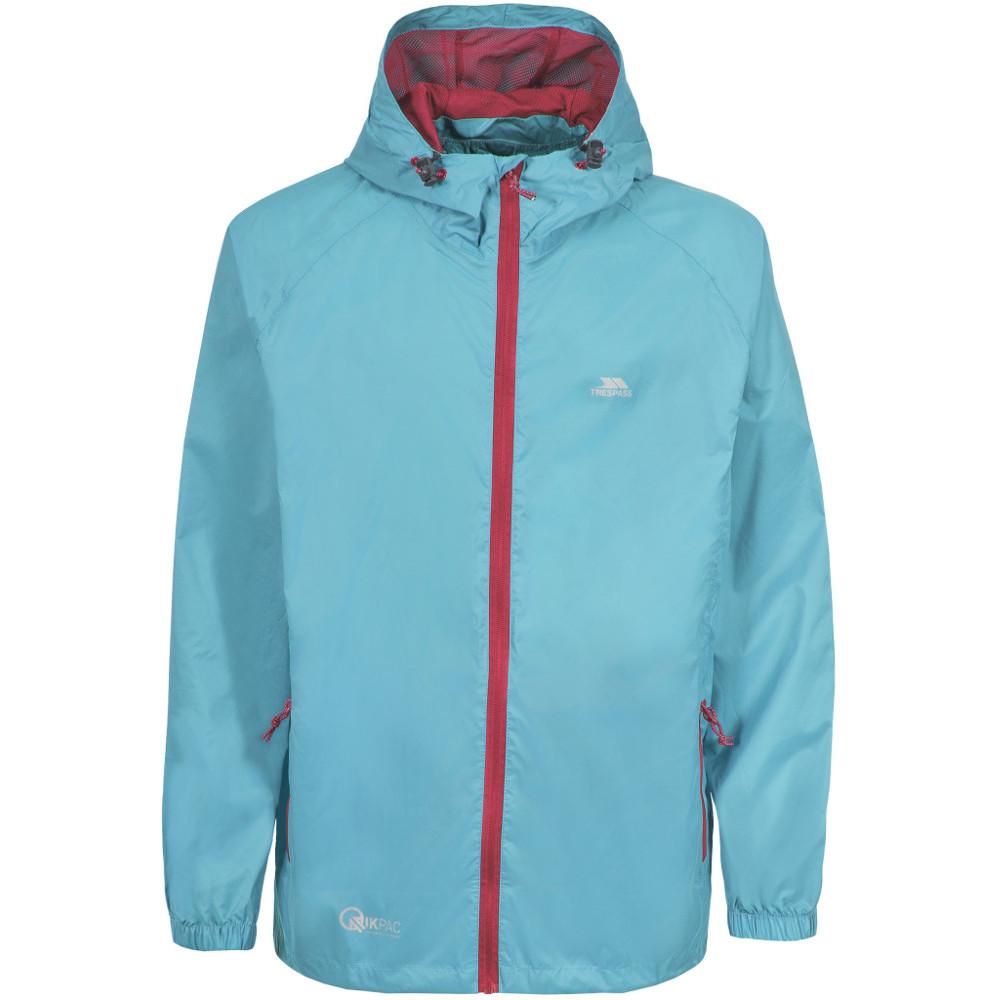 Trespass Boys Girls Qikpac Waterproof Breathable Packaway Jacket