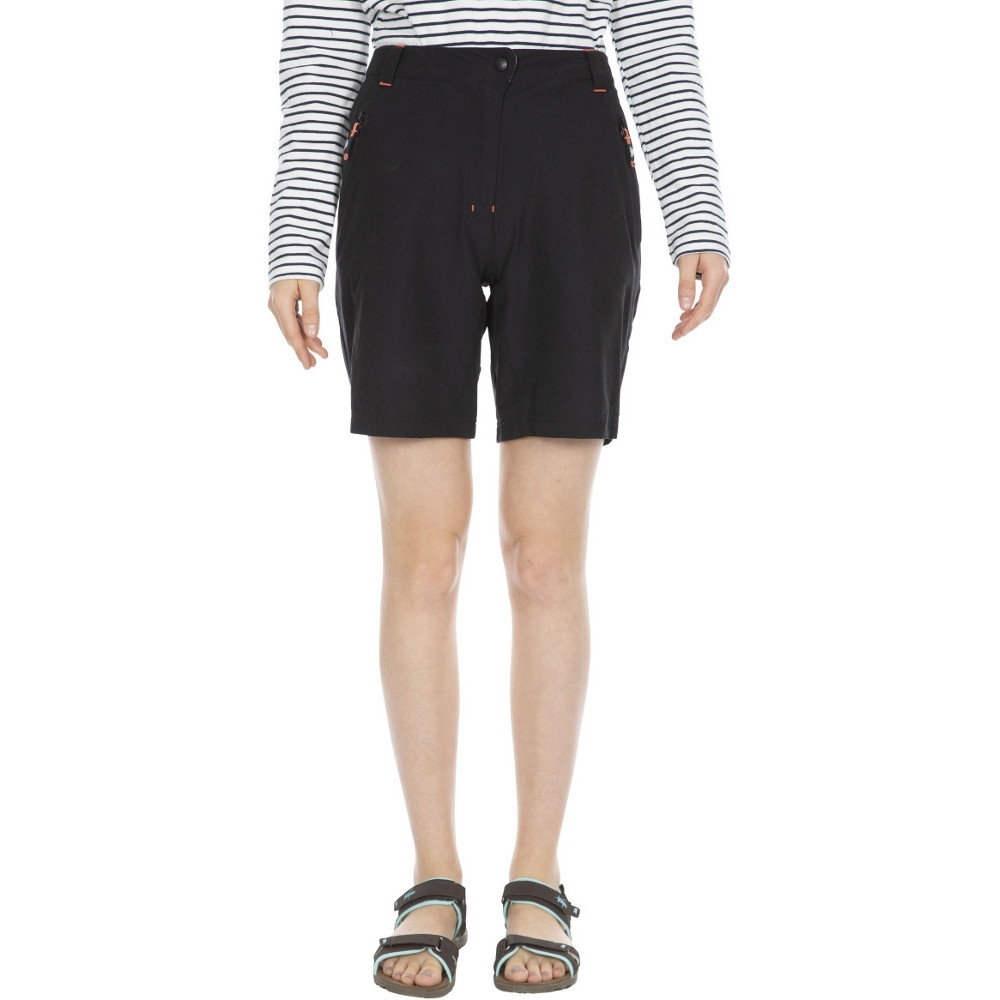 Trespass Womens/ladies Brooksy Mid Length Summer Walking Shorts 12/m - Waist 30 (76cm)  Inside Leg 30.25