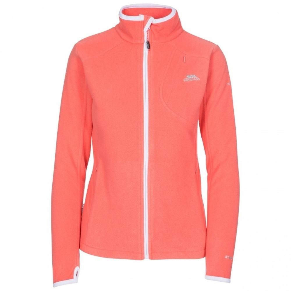 Trespass Womens/ladies Saskia Ultra Lightweight Fleece Jacket 14/l - Bust 38 (96.5cm)