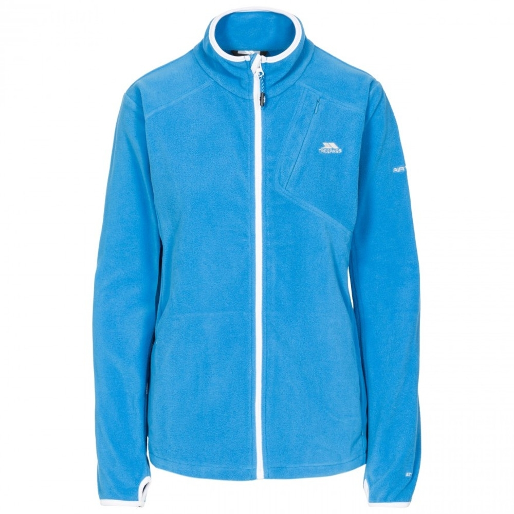 Trespass Womens/ladies Saskia Ultra Lightweight Fleece Jacket 10/s - Bust 34 (86cm)