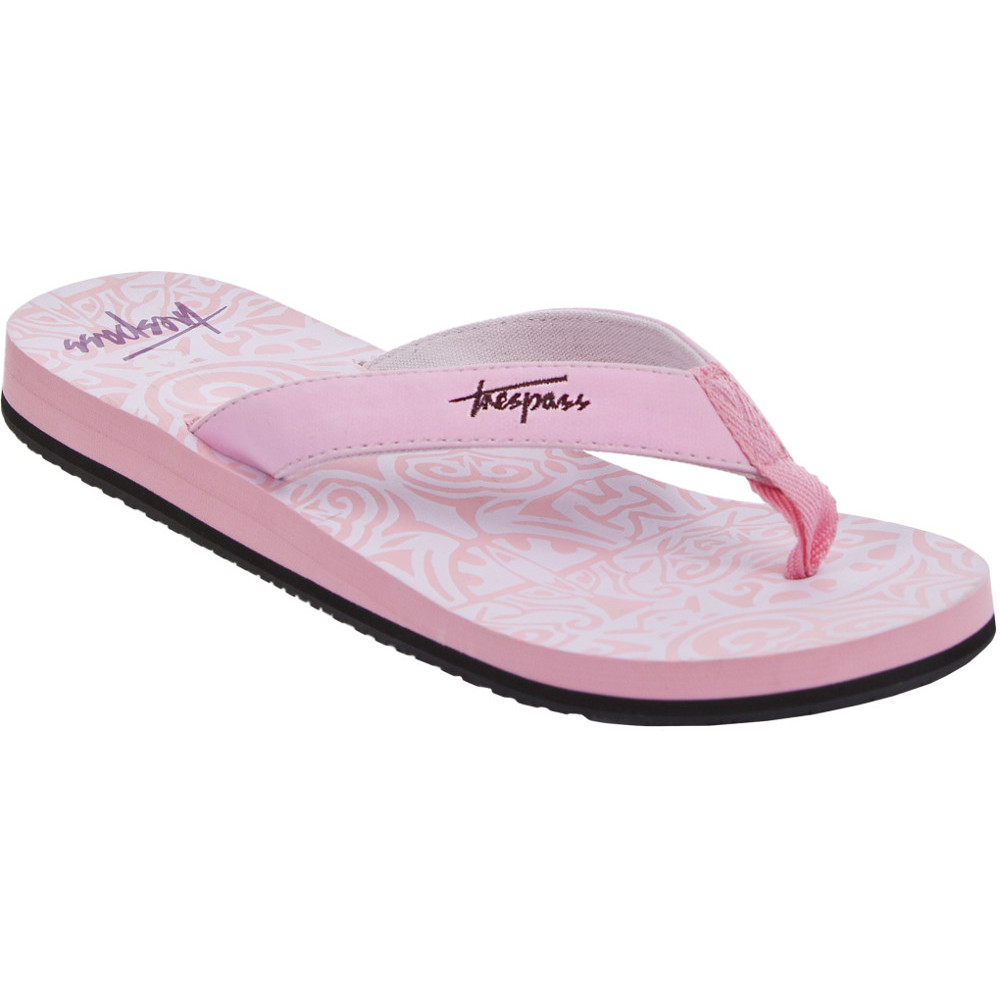 Product image of Trespass Womens/Ladies Ariadne Casual Summer Thong Flip Flop Sandal UK Size 4 (EU 37  US 6)
