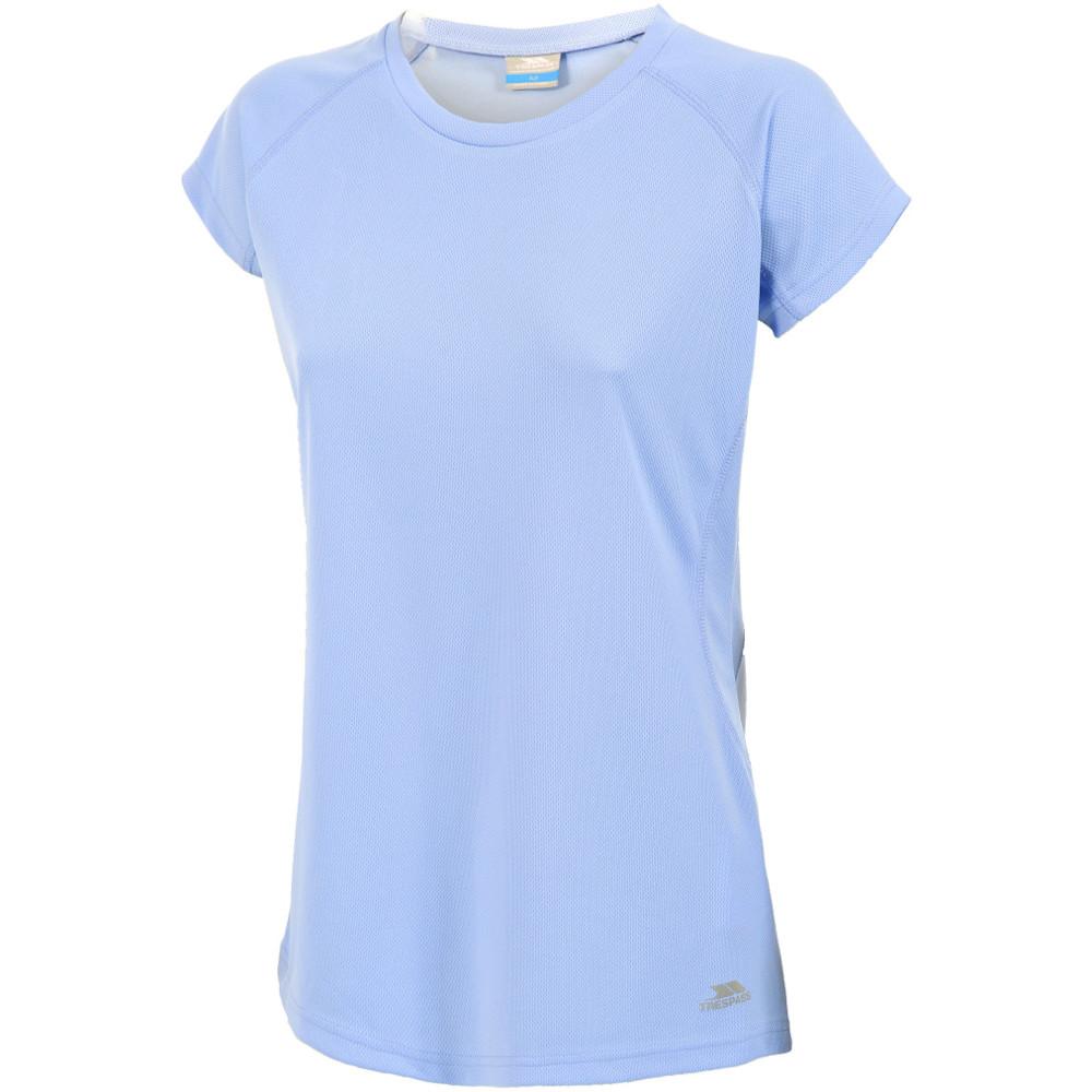 Product image of Trespass Womens/Ladies Sunridge Short Sleeve Scoop Neck T Shirt 8/XS - Bust 32' (81cm)