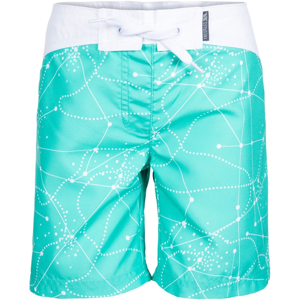 Trespass Girls Mabel - Female Shorts 9-10 - Waist 24 (waist 61cm)