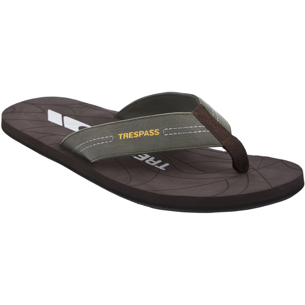 Product image of Trespass Mens Atticus Flip Flop Casual Travel Thong Sandal UK Size 7 (EU 41  US 8)