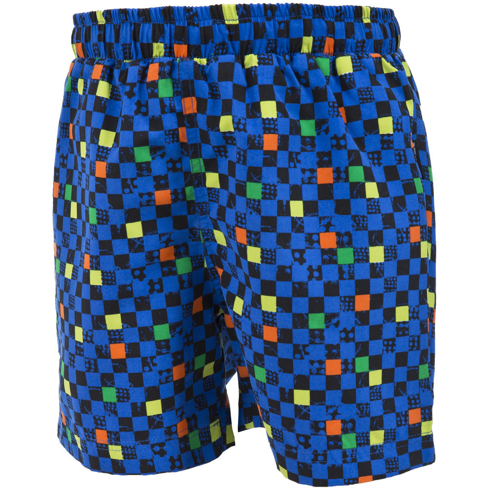 Product image of Trespass Boys Pixel All Over Print Casual Summer Board Shorts 11-12 years - Waist 26' (66cm)  Inside