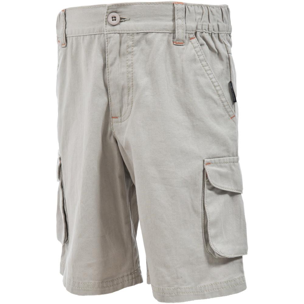 Product image of Trespass Boys Dolton Full Cotton Cargo Walking Shorts 11-12 years - Waist 26' (66cm)  Inside Leg 28'