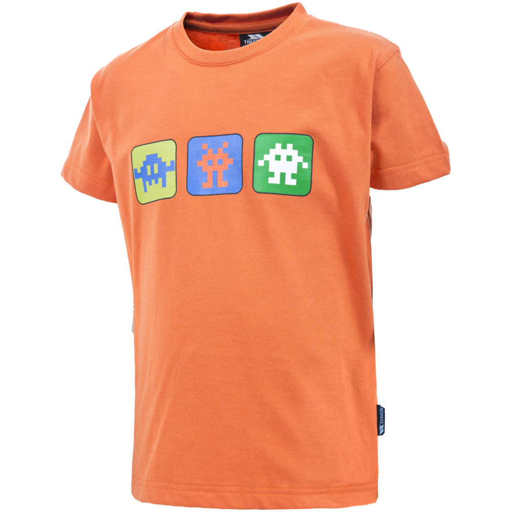 Product image of Trespass Boys Invaders Short Sleeve Graphic T Shirt 11-12 years - Height 59'  Chest 31' (79cm)