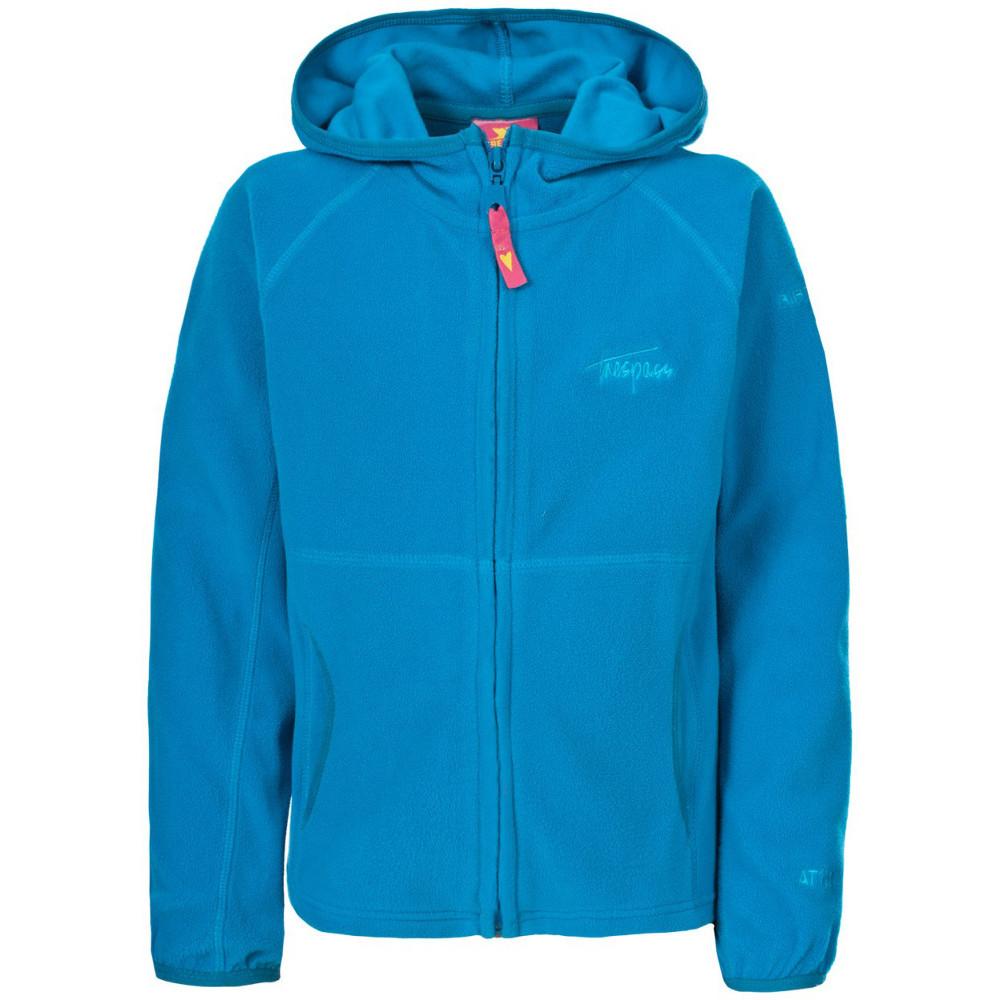 Product image of Trespass Girls Snozzle Full Zip Lightweight Warm Cozy Fleece Hoodie 3-4 years - Height 40'  Chest 22
