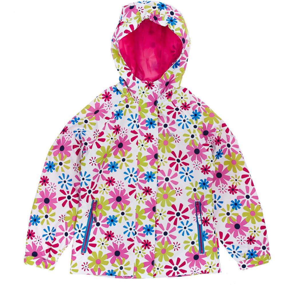 Trespass Girls Popstar Waterproof Windproof Striped Jacket