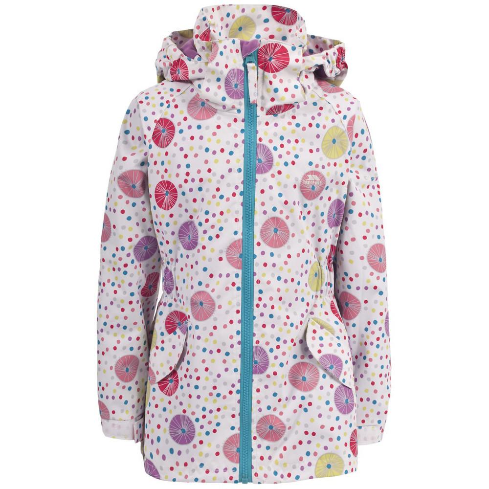 Trespass Girls Fairies Waterproof Windproof Jacket 2-3