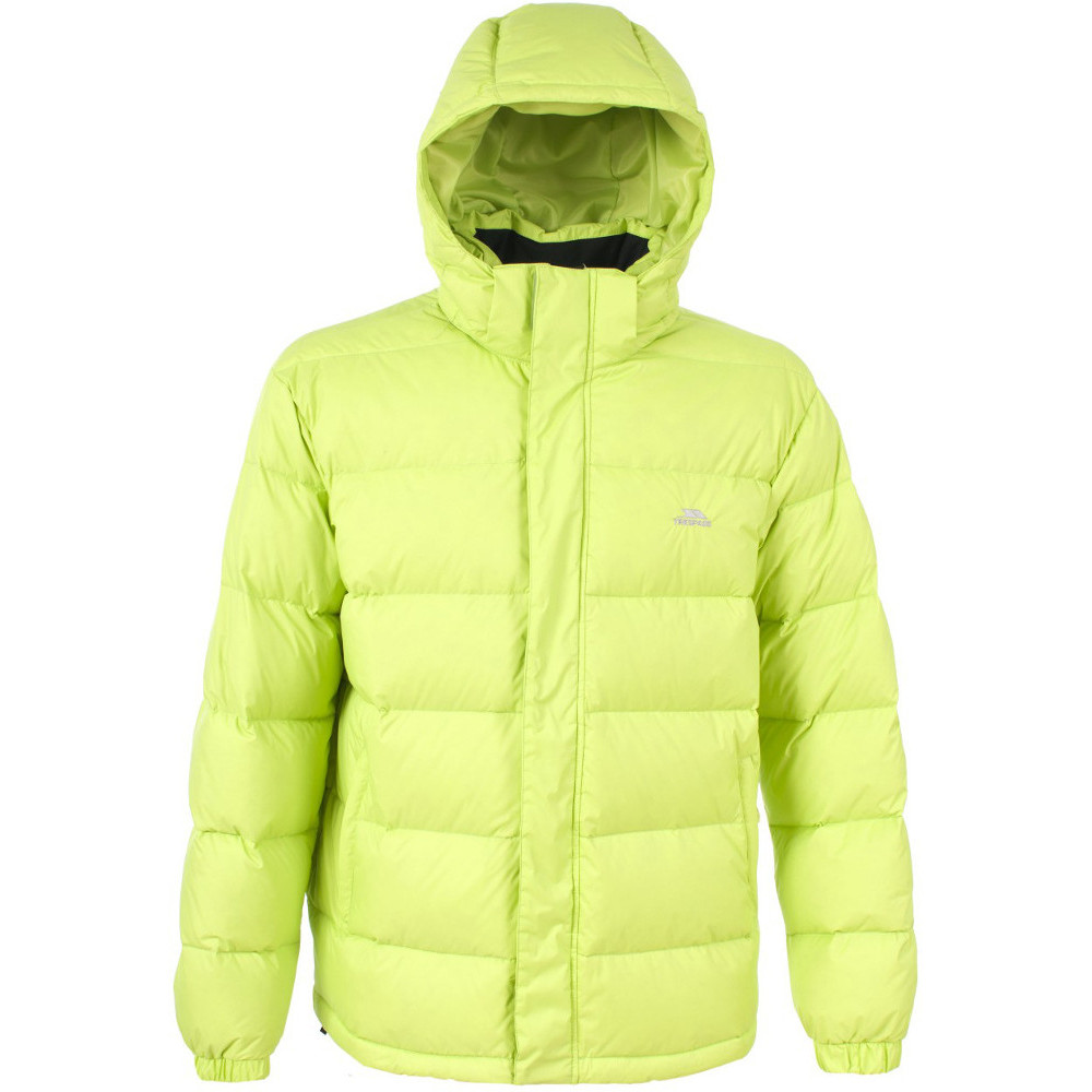 Trespass Mens Syrus Natural Feather Down Padded Winter Puffer Jacket L - Chest 41-43 (104-109cm)