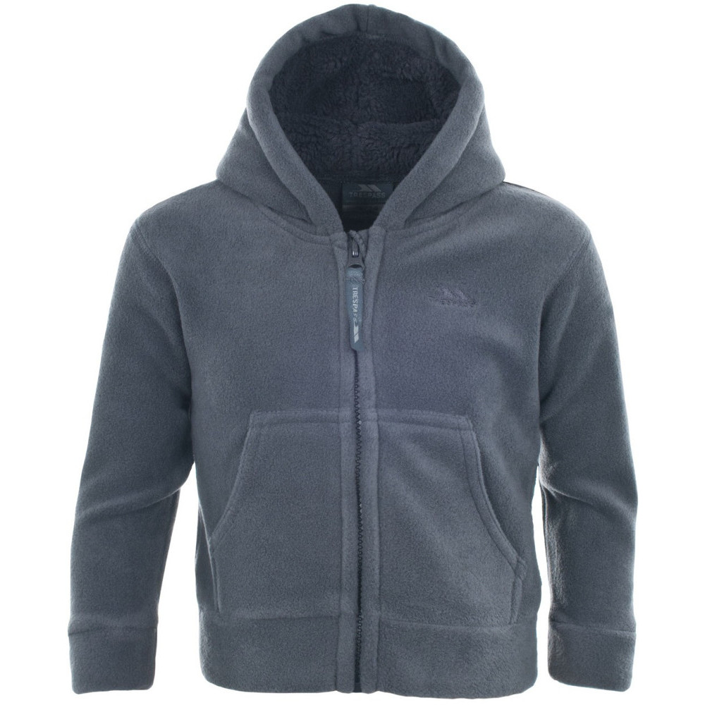 Product image of Trespass Boys Alejandro Baby Full Zip Soft Warm Fleece Hoodie Top 12-18 Months
