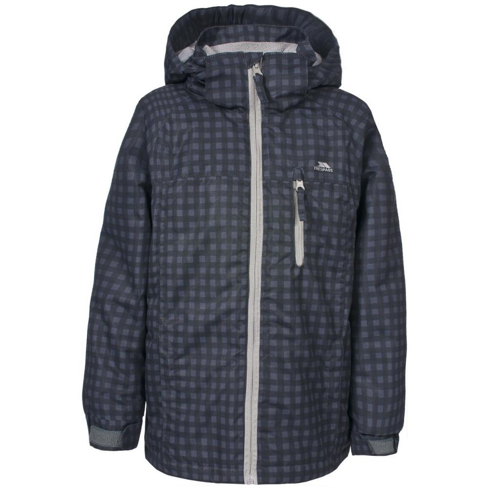Trespass Boys Jace Waterproof Padded Rain Coat Jacket 2-3