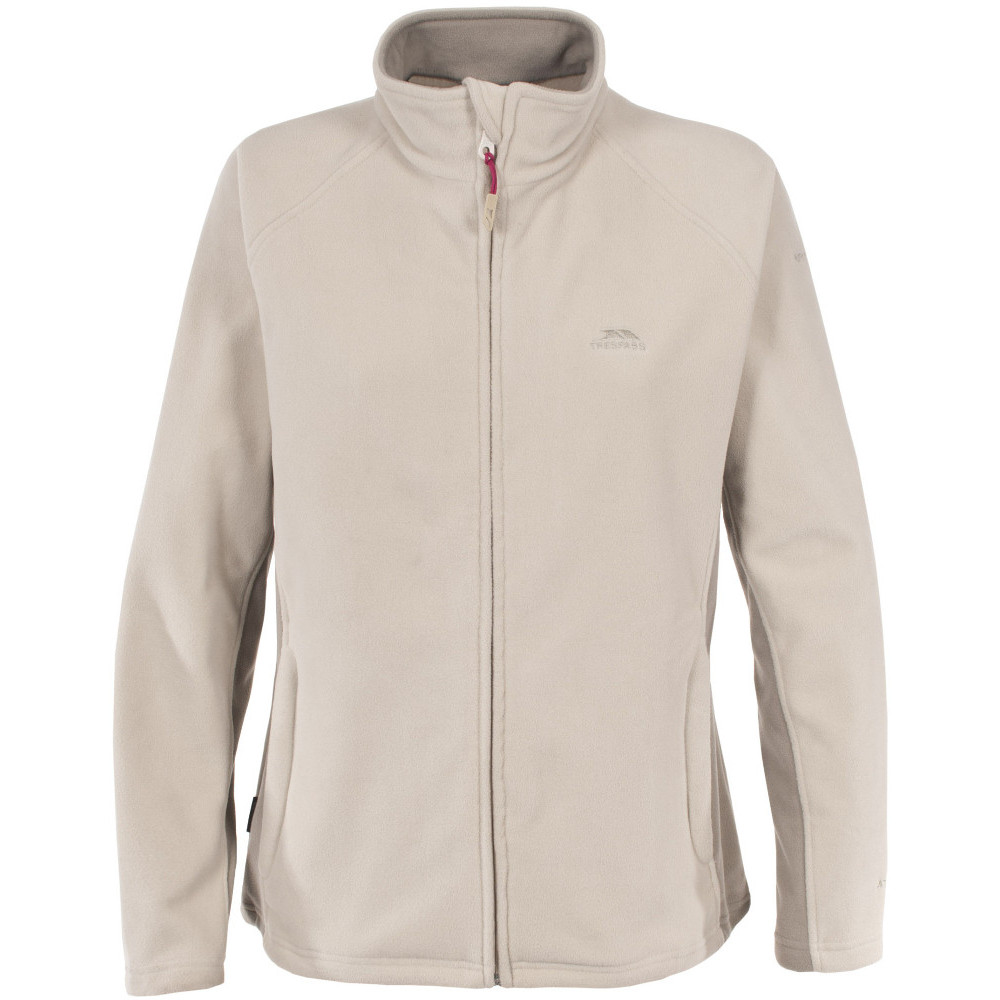 Trespass Womens/Ladies Agate Full Zip Thick Midlayer Fleece Jacket 10/S - Bust 34 (86cm)