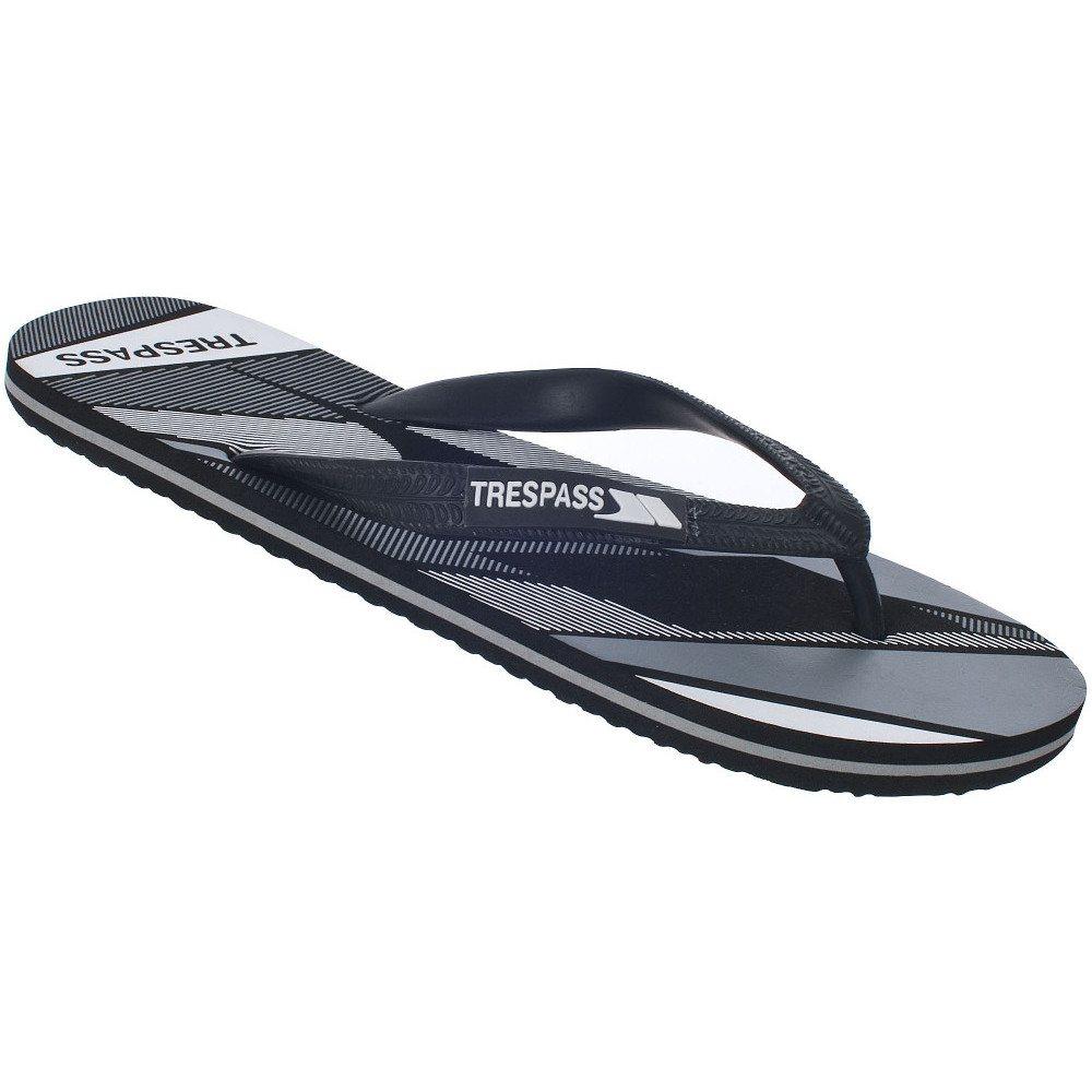 Product image of Trespass Mens Eluder lightweight printed flip flop sandals UK Size 7 (EU 41  US 8)
