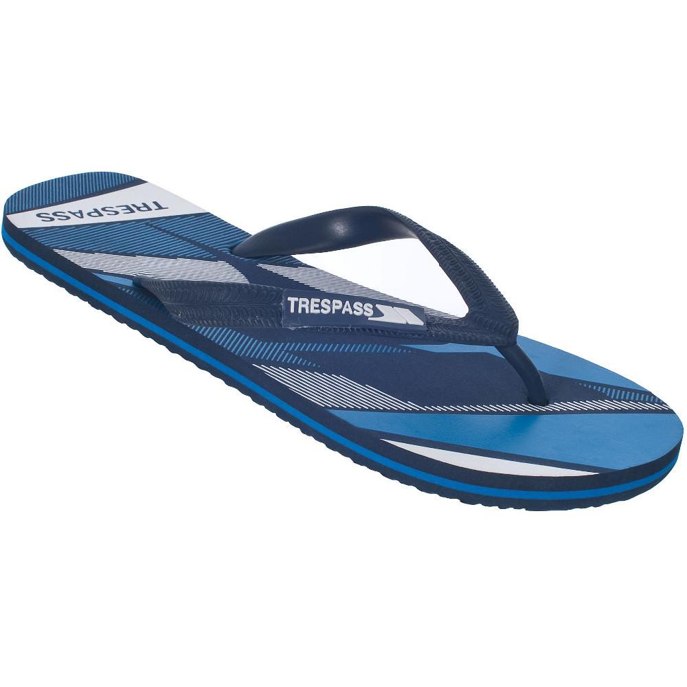 Product image of Trespass Mens Eluder lightweight printed flip flop sandals UK Size 9 (EU 43  US 10)
