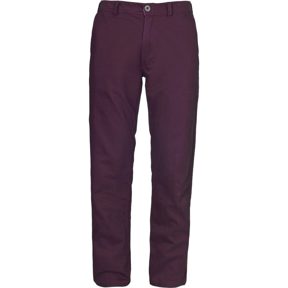 Trespass Mens Milium Cotton Twill Casual Walking Trousers