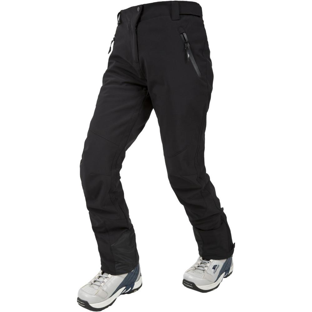 Trespass Womens/ladies Amaura Stretch Softshell Ski Trousers 12/m - Waist 30 (76cm)  Inside Leg 30.25