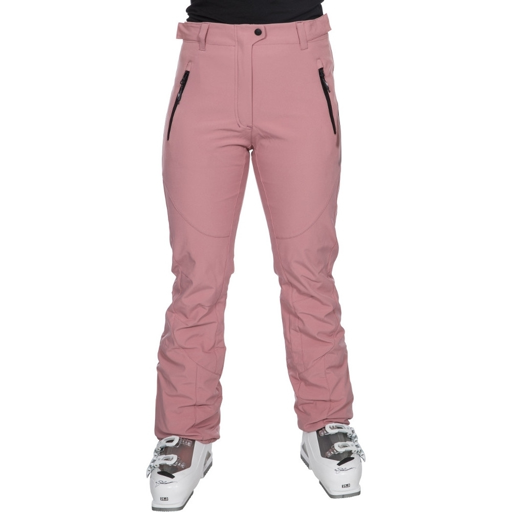 Trespass Womens/ladies Amaura Stretch Softshell Ski Trousers S- Uk 10  Waist 28 (71cm)