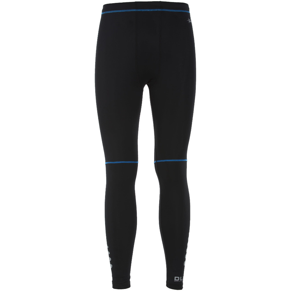 Trespass Mens Brute Wicking Quick Dry Compression Baselayer Trousers S - Waist 30-32 (76-81cm)  Inside Leg 30