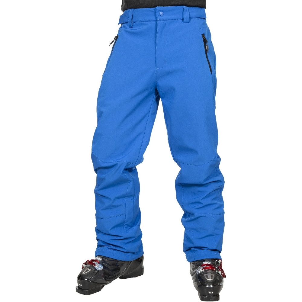 Trespass Mens Westend Waterproof Stretch Softshell Ski Trousers L- Waist 36-38 (91.5-96.5cm)