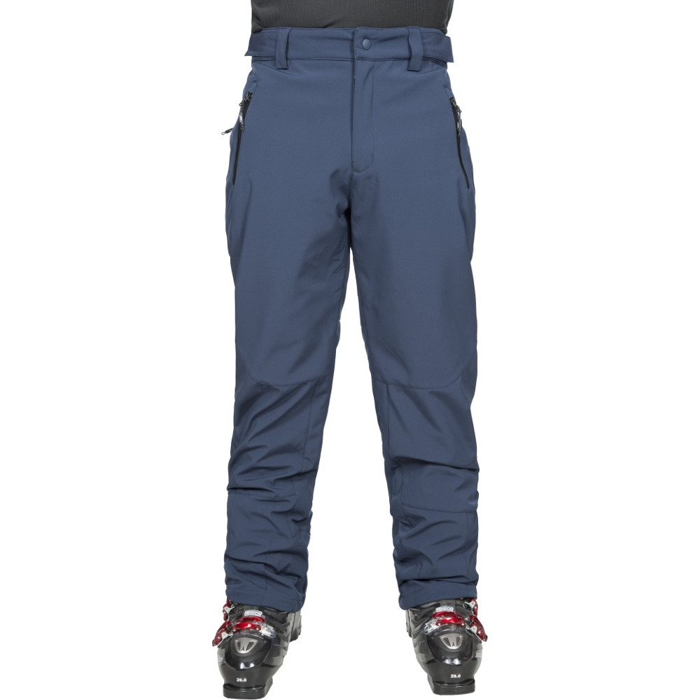 Trespass Mens Westend Waterproof Stretch Softshell Ski Trousers S- Waist 30-32 (76-81cm)