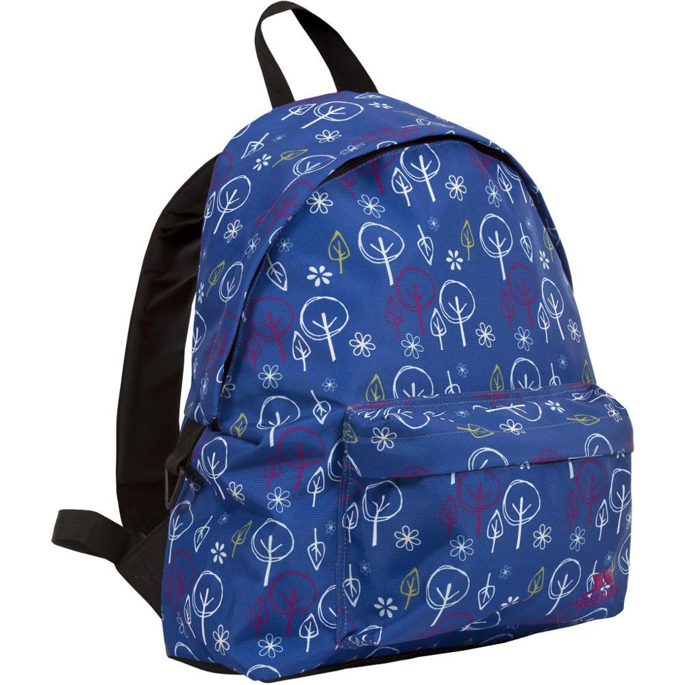 trespass britt 16 litre back to school patterned backpack below 20l