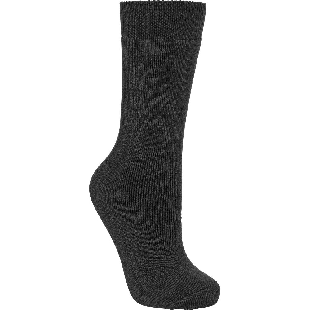 Trespass Boys Tubular Cushioned Long Length Ski Tube Socks Uk Size 12 (eu 31  Us 13)