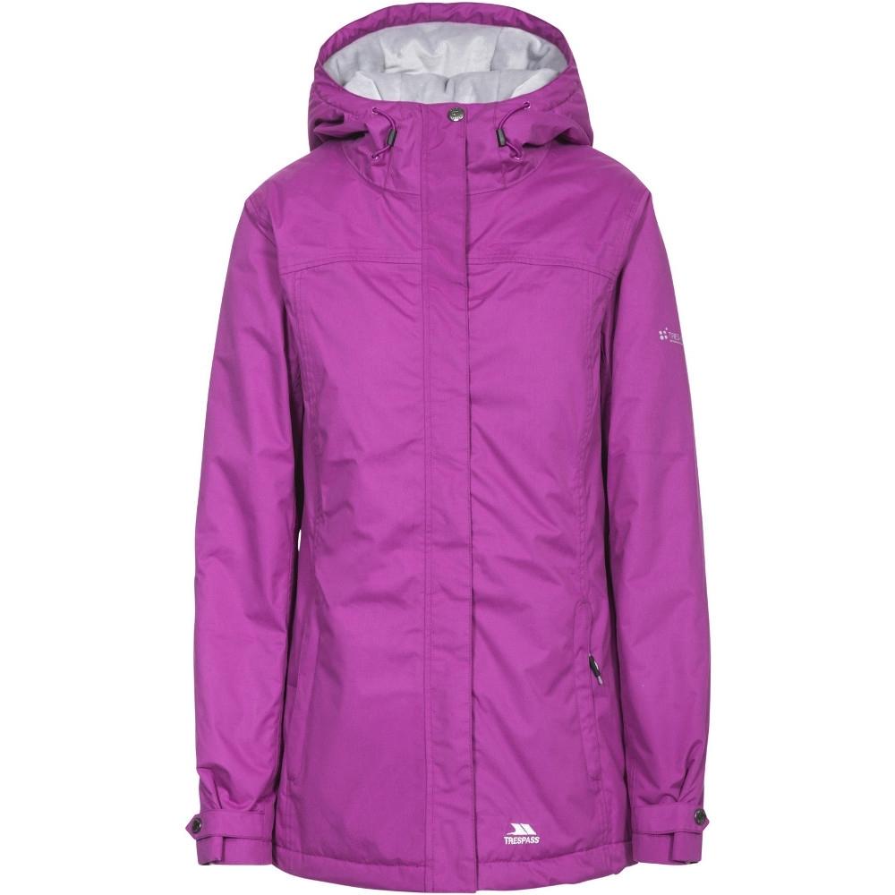 Trespass Womens/ladies Edna Waterproof Padded Coat Jacket 6/xxs - Bust 30 (76cm)