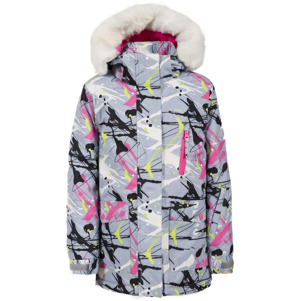 Trespass Girls Verla Waterproof Padded Ski Jacket 7-8 years